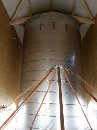 Fertigstellung Edelstahlbehälter im Hochbehälter Schonstett