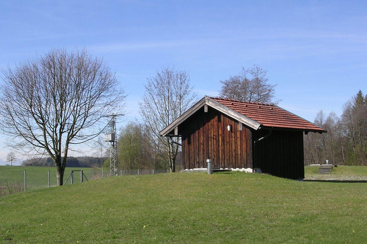 Wasserschutzgebiet Eiselfing – Brunnenhaus und Fassungszone
